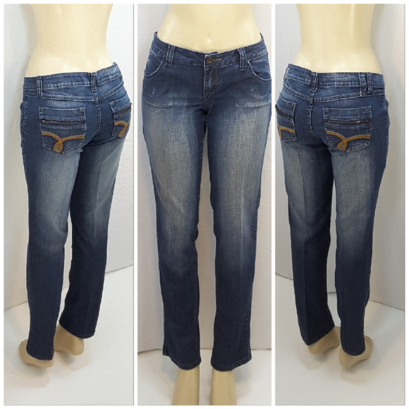 Zana Denim - ZANA JEANS, Straight Leg Denim Jeans, size 13